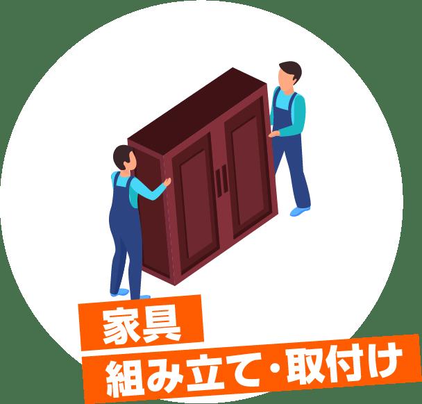 家具 移動・設置