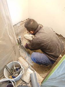 トイレ改修工事の工程①