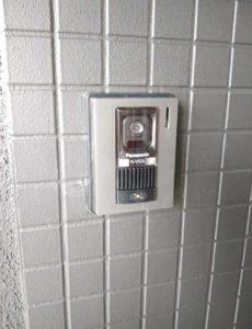 モニター付きインターホン